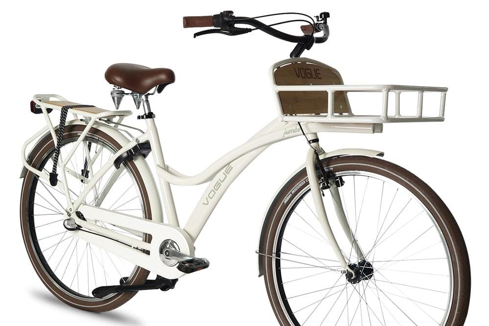 Vogue-Jumbo-dames-transportfiets-Wit-4-min